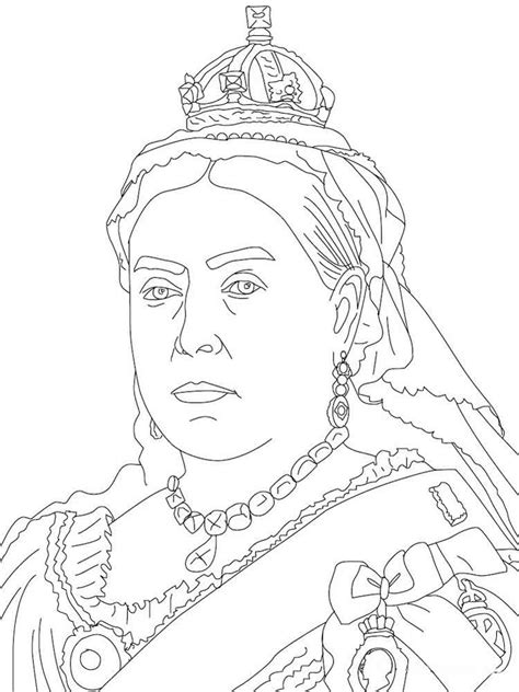 queen coloring pages  printable queen coloring pages