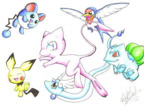 Cute Pokemon Drawings