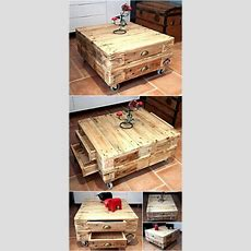 Some Great Furniture Ideas With Shipping Wood Pallets
