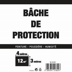 Bache De Protection Castorama : b che plastique de protection 4 x 3 m castorama ~ Melissatoandfro.com Idées de Décoration