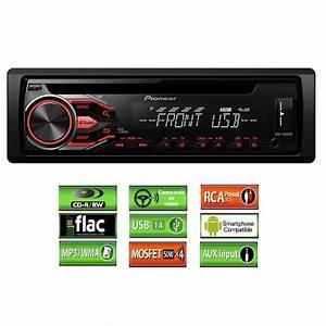 Usb Radio Auto : pioneer deh 1800ub autoradio cd usb flac achat vente ~ Kayakingforconservation.com Haus und Dekorationen