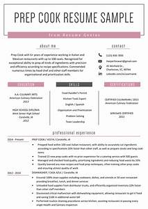 Related Skills Resume Prep Cook Resume Example Writing Tips Resume Genius