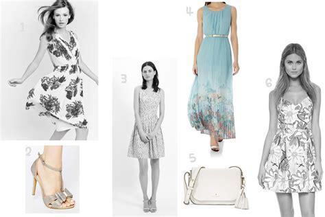 dresses for guests at a wedding 4 blue dresses for a summer wedding guest prettygreentea