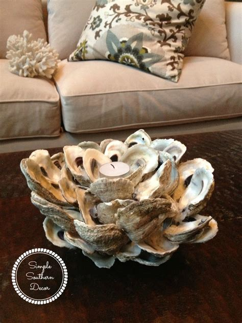 oyster shell decor simple nature decor 1360