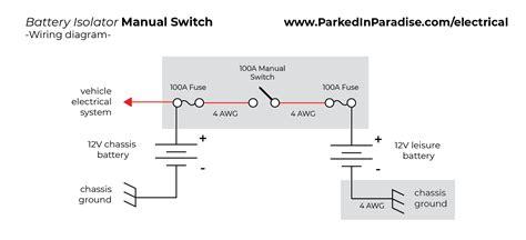 install  battery isolator   conversion van