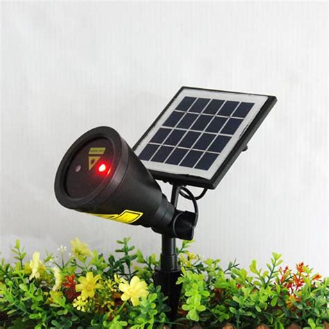 solar light led bulb solar power panel laser light