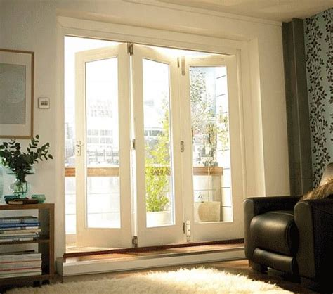 folding patio doors for the home