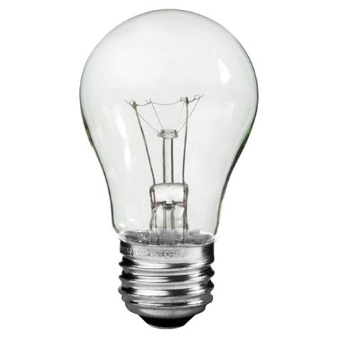 philips 299990 40 watt a15 clear appliance bulb