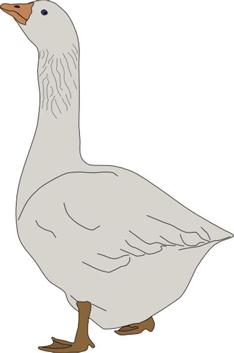 goose clip art  clkercom vector clip art