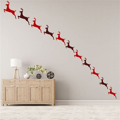 decoration chambre mickey reindeer creative multipack wall stickers