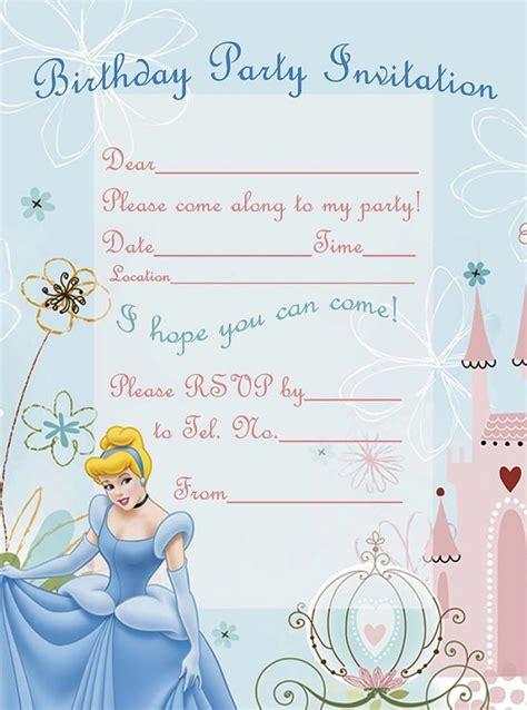 printable birthday invitations   year olds girls