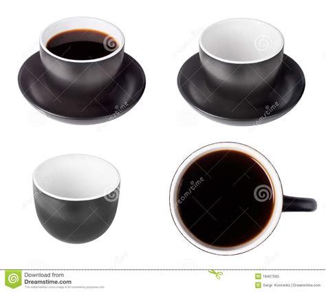 3038 espresso coffee cup set set of black coffee espresso cups royalty free stock photo