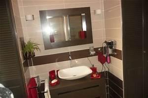 beautiful salle de bain marron taupe ideas amazing house With salle de bain rose et marron