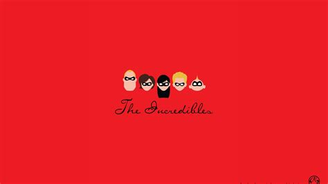 S Animation Wallpaper - pixar minimalistic animation the incredibles wallpaper