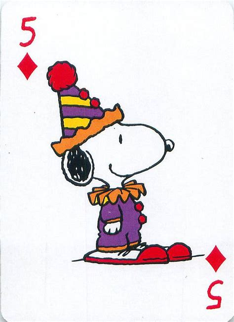 56 Best Images About Peanuts Art* Deck Of Cards* On