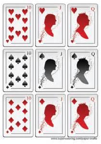 printable cards deck    print