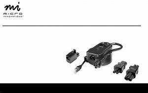 Micro Innovations Surge Protector Nb460sp User Guide