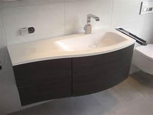 Unterschrank Mit Waschbecken : waschtisch mit unterschrank geschwungene form bathroom ~ A.2002-acura-tl-radio.info Haus und Dekorationen