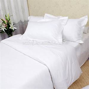 Wholesale cheap bulk white bed sheets single double queen for Cheap white bed sheets bulk
