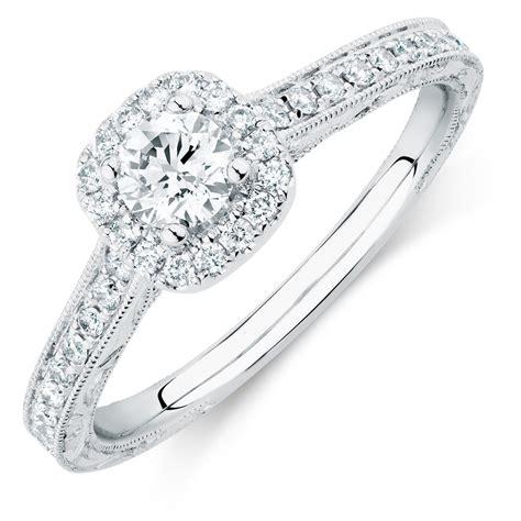 sir michael hill designer grandamoroso engagement ring with 3 4 carat tw of diamonds in 14kt