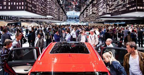 ผู้ผลิตรถยนต์ 9 ราย งดจัดแสดงในงาน Frankfurt Motorshow