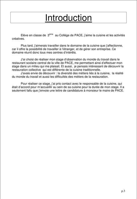 rapport de stage cuisine collective rapport de stage 3eme cuisine 9 page 3 jpg