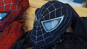 Spider-Man Introducing the Black Suit Symbiote Mask! - YouTube