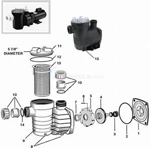 Waterco Aquastream Pump Parts