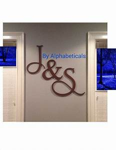 25 best wall lettering ideas on pinterest decorative With monogram letter for mantle