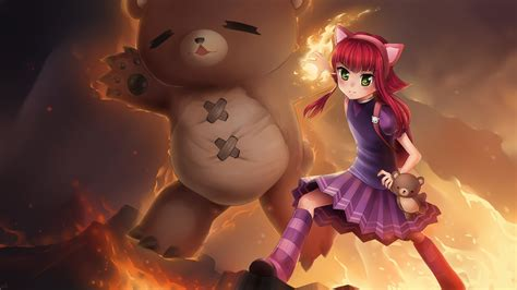 annie lol wallpapers