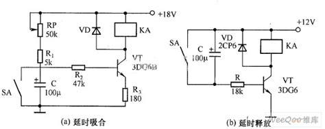 Transistor Time Relay Circuit Diagram Led Light