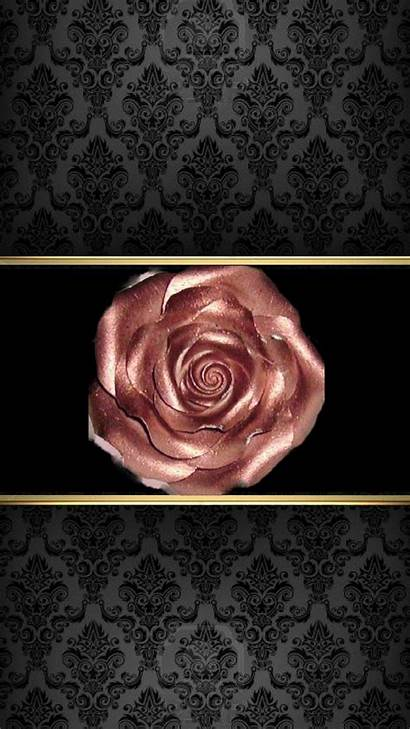 Rose Iphone Wallpapers Flower Rosegold Flowers Computer