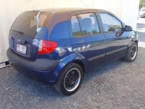 2006 Hyundai Getz Hatchback Blue