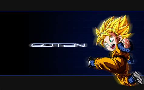 goten wallpapers wallpapersafari