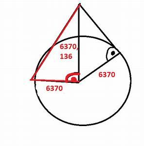 Erdradius Berechnen : satz des pythagoras wie bekomme ich die sichtweite wenn ~ Themetempest.com Abrechnung