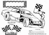 Dirt Track Race Coloring Pages Clipart Modified Nascar Drawing Printable Cars Colouring Sports Clip Racing Tire Tracks Bike Worlds Clipground sketch template