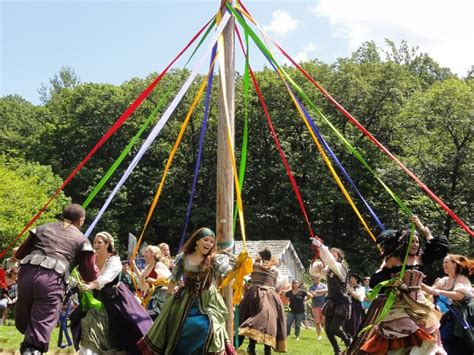 The History Of Maypole Dancing
