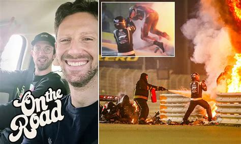 Romain Grosjean discharged from hospital after horror ...