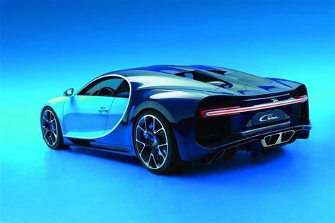 Bugatti Chiron Rear by Bugatti Chiron Officially Revealed 1500hp Veyron