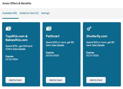 Maybe you would like to learn more about one of these? You May Be Missing Out On Extra Cash Back With American Express