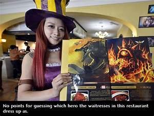 Restaurante League of Legends en China Mediavida