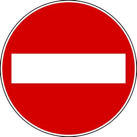 Italian Traffic Signs And Symbols