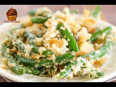 easy  healthy homemade green bean casserole recipe