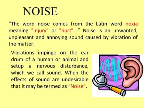 hearing protection noise pollution