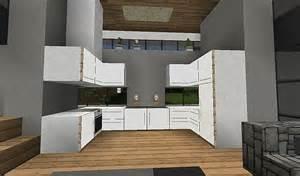 Minecraft Modern Kitchen