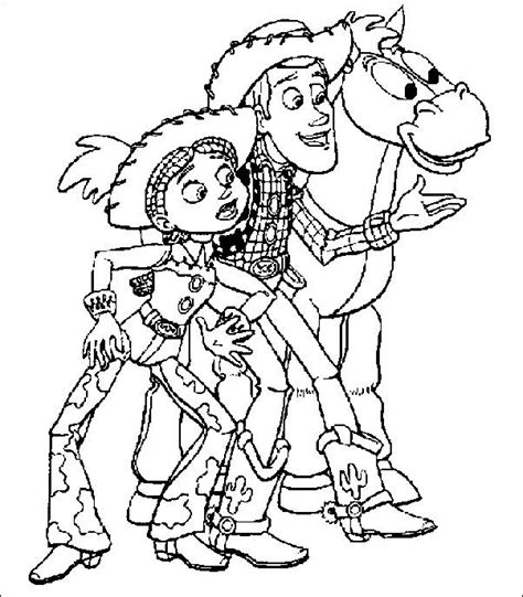 coloring pages toy story picture