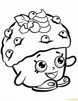 Shopkins Shopkin Coloring Pages Muffin Mini Season Printable Dolls Toys Print Cupcake Colouring Muffins Sheets Drawing Characters Cake Cartoon Pancake sketch template