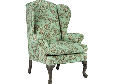 home furnishings living room queen anne wing chair