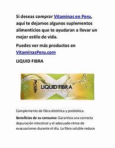 Vitaminas En Peru