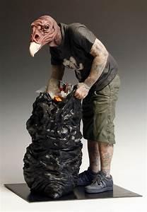 Hybrid, Sculptures, By, Artist, Alessandro, Gallo, U2013, Booooooom